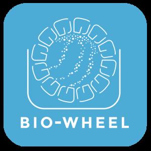 Bio-wheel logo