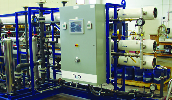 Industries - Developers resorts drinking water treatment system