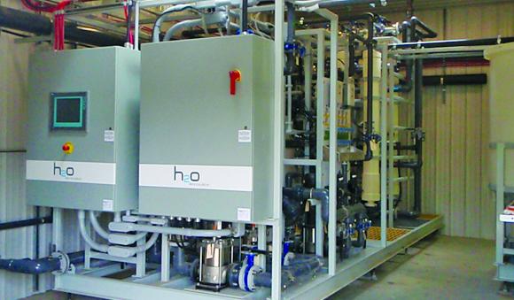 Industries - Developers resorts Fiberflex water treatment system