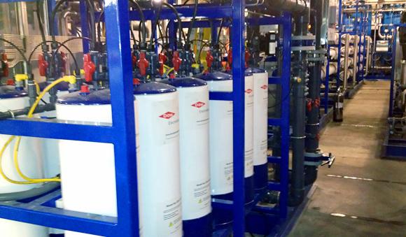 Technologies - Electrodeionization ion exchange water system