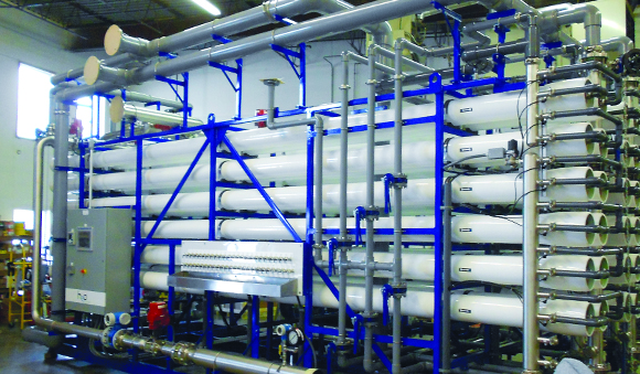 Industries - Food and beverage facility drinking water treatment system