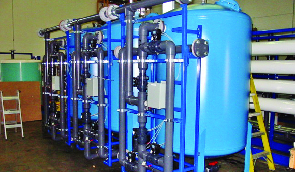 Industries - Greensand filters food beverage water treatment system