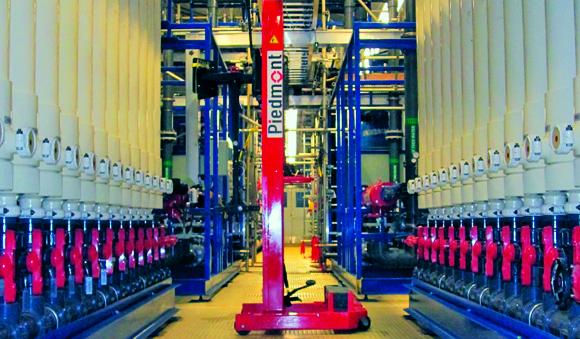 Industries - Oil gas Fiberflex water treatment system