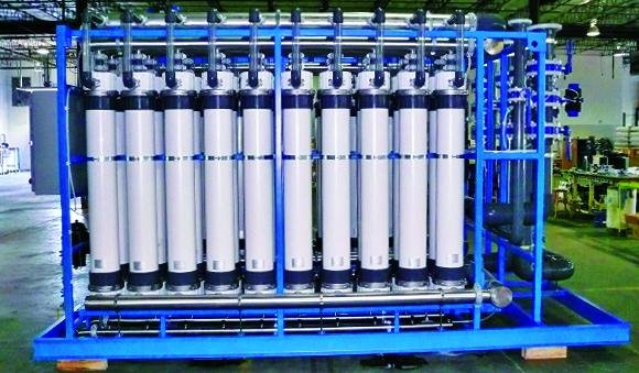 Industries - Power Generation water treatment system Fiberflex