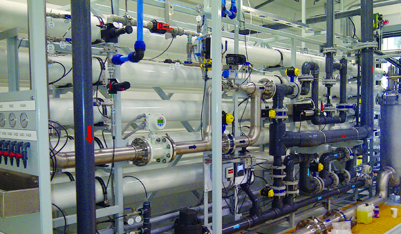 Industries - First Nations drinking water treatment system