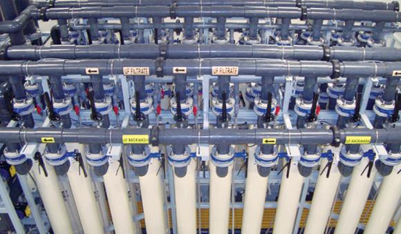 Industries - First nations Fiberflex water treatment system