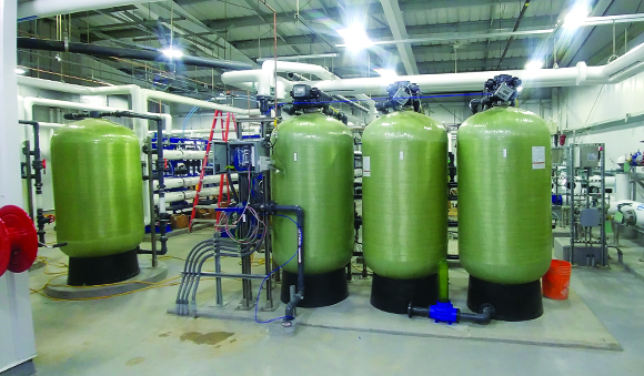 Industries - First nations greensand filters water treatment tanks
