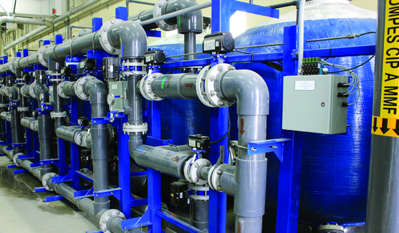 Industries - Greensand filters drinking water treatment system
