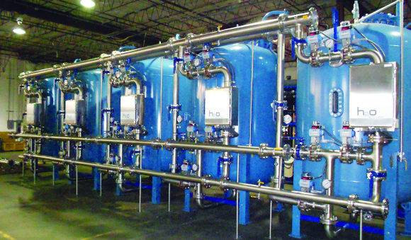 Industries - Greensand filters power generation water system