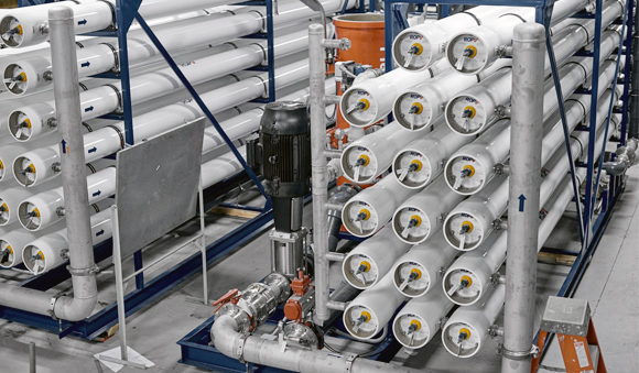 Expertise - Scope of work membrane filtration system