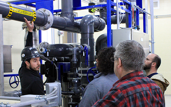Services - Water treatment plant onsite workers training