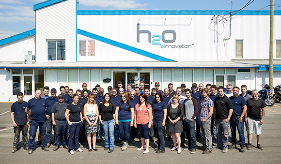 About us - Team h2o innovation Ham-nord factory