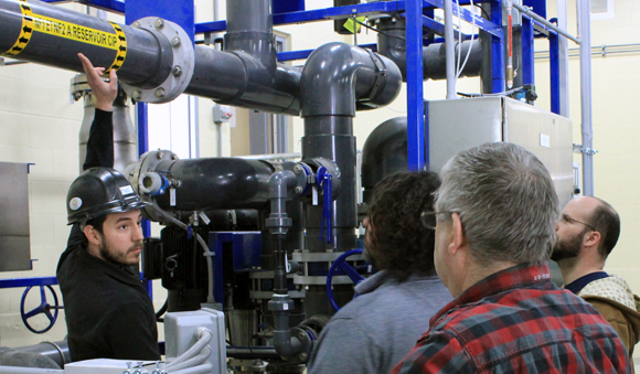 Services - Onsite water plant worker training