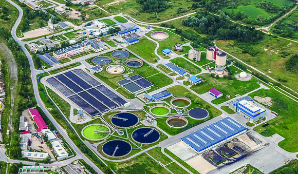 Applications - Wastewater treatment plant