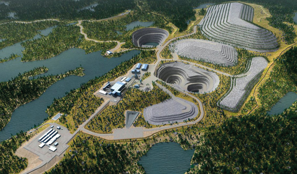 Industries - Mine site wastewater treatment system