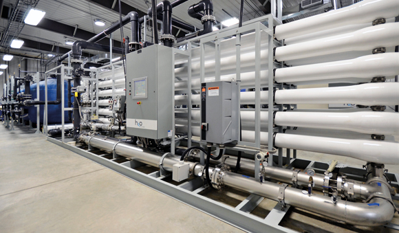 Applications - Nanofiltration system drinking water