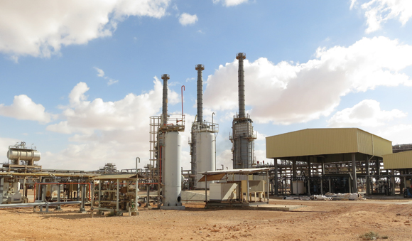 Industries - Oil gas plant wastewater treatment system