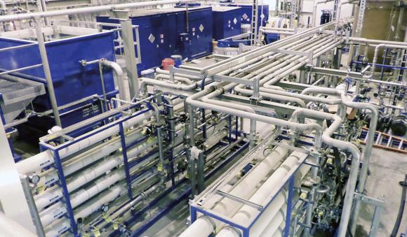 Industries - Power generation boiler water system