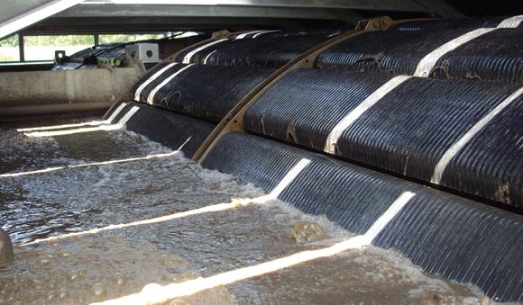 Applications - Membrane bioreactor bio-wheel wastewater treatment
