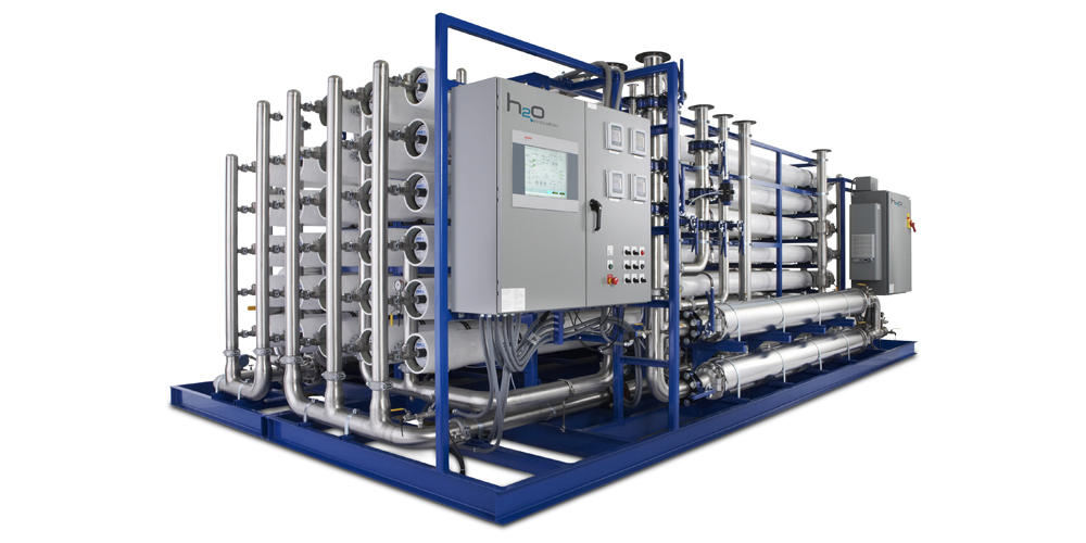 Industries - Mining Reverse Osmosis skidded treatment system