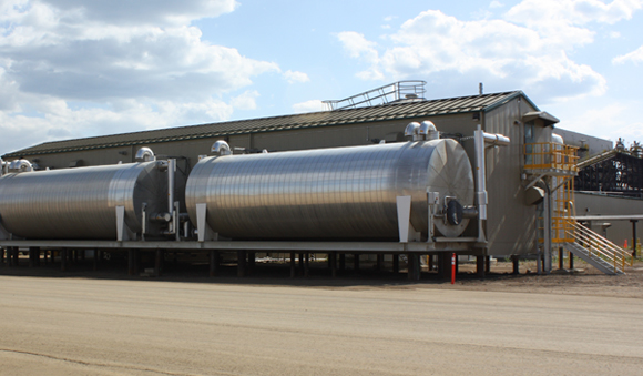 Industries - Oil gas tanks water treatment system