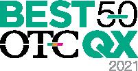 OTCQX Market group Best 50 companies logo