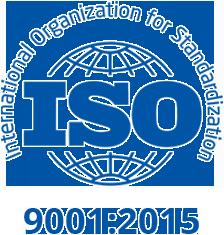 Piedmont ISO 9001 certificate