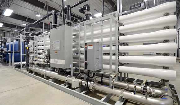 Technologies - Nanofiltration water system