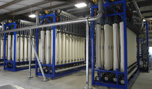 Technologies - Ultrafiltration and microfiltration water system