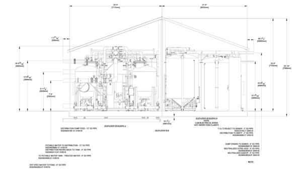 Expertise - Delivery Model Fort Hills plan technical drawing