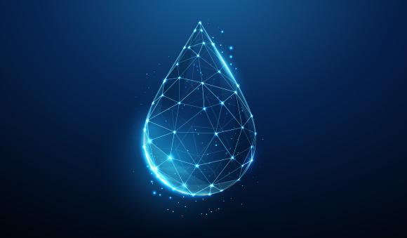 Technologies - digital water drop