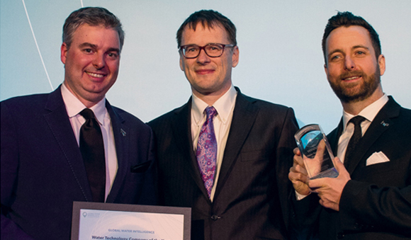 About Us - Award Recognition Frederic Dugre Guillaume Clairet Christopher Gasson