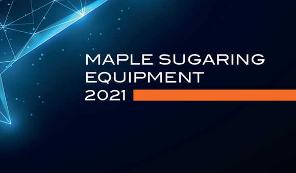 Specialty product - Maple sugaring product catalog cover 2021