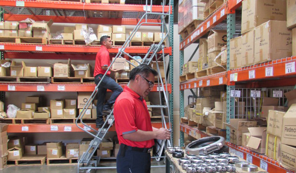 Specialty Products - Piedmont products warehouse worker