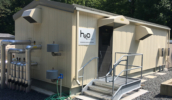 About Us - h2o innovation membrane bioreactor testing site
