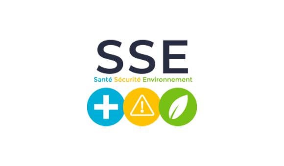 À propos - santé sécurité environnement sse logo